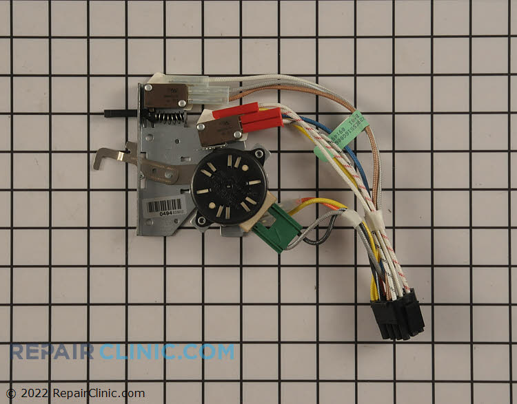 Door Lock Motor and Switch Assembly WB14T10071      Alternate Product View