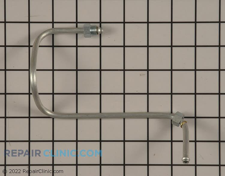 Gas burner tube, 18K right front