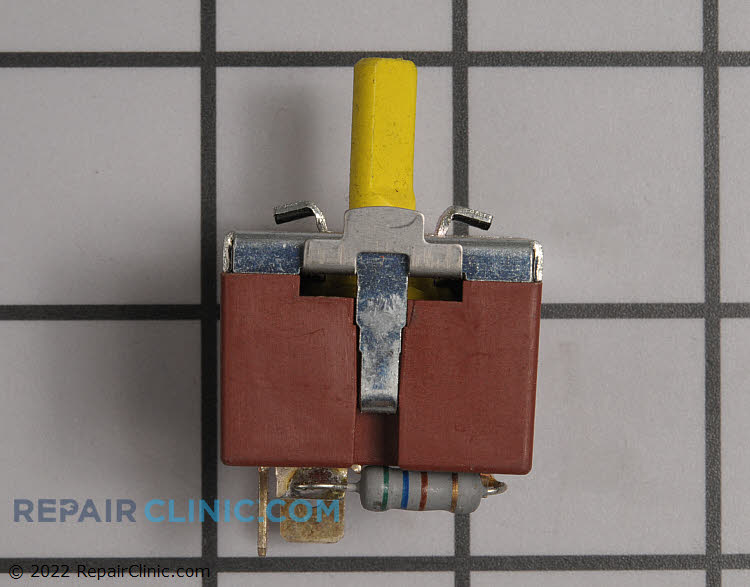Temperature selector switch, 3 position