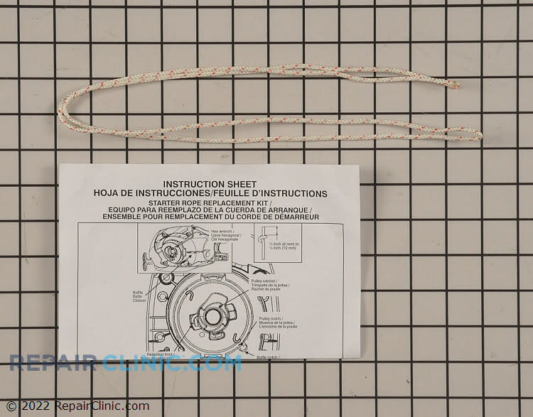 Starter Rope 545050409 Alternate Product View