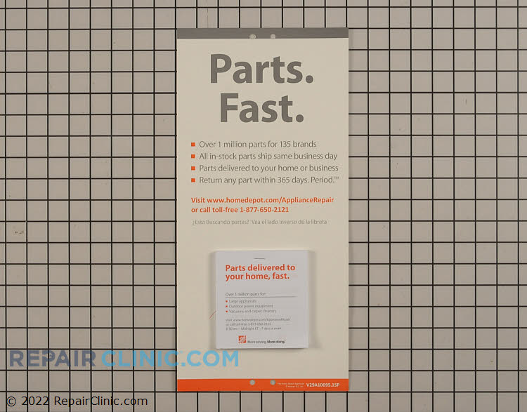 Home Depot Promotional Material V29A10095A1SP Alternate Product View