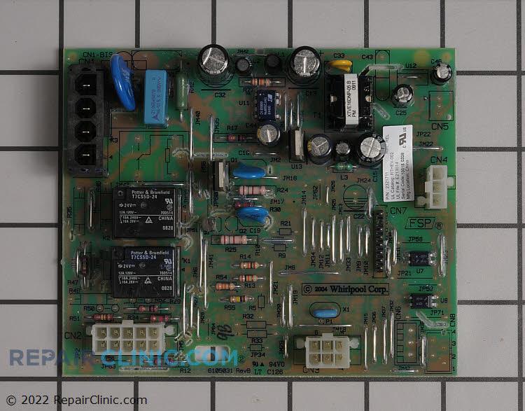 Main Control Board Wp2321711 Repairclinic Com