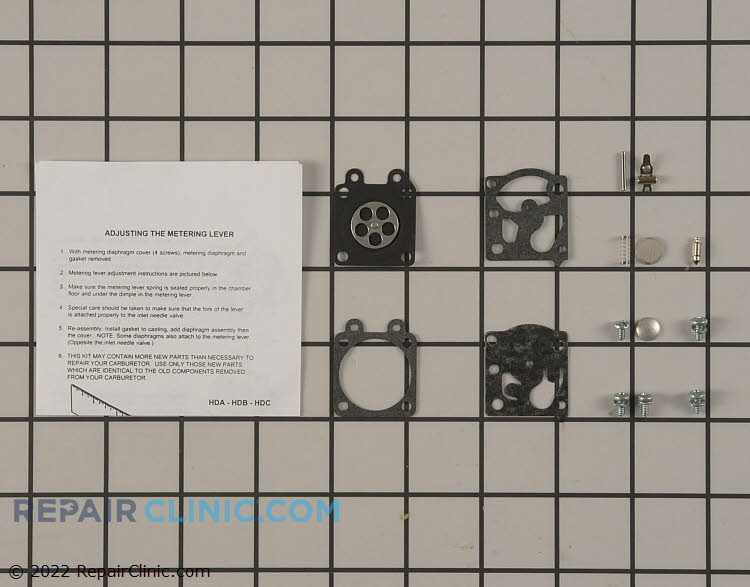 Carburetor Repair Kit 12310052130 Alternate Product View