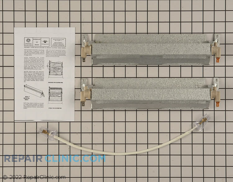 Defrost Heater Assembly WR49X392        Alternate Product View