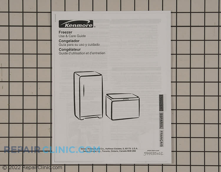 Parts Catalog 5995351102 Alternate Product View