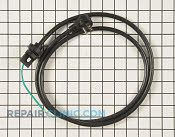 Power Cord - Part # 4442907 Mfg Part # WPW10239314