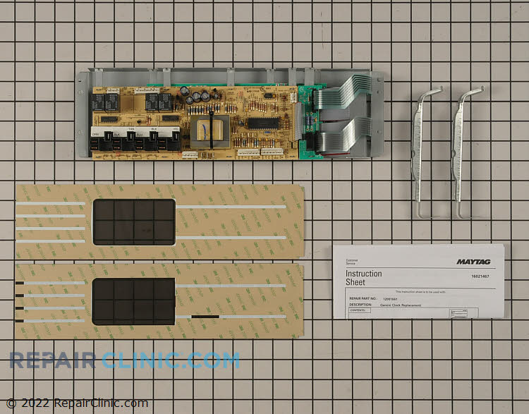 Oven Control Board 12001661        Alternate Product View