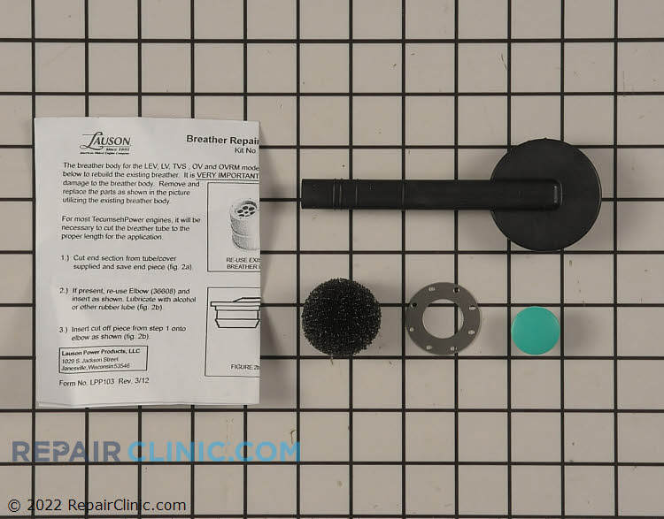 Breather tube kit