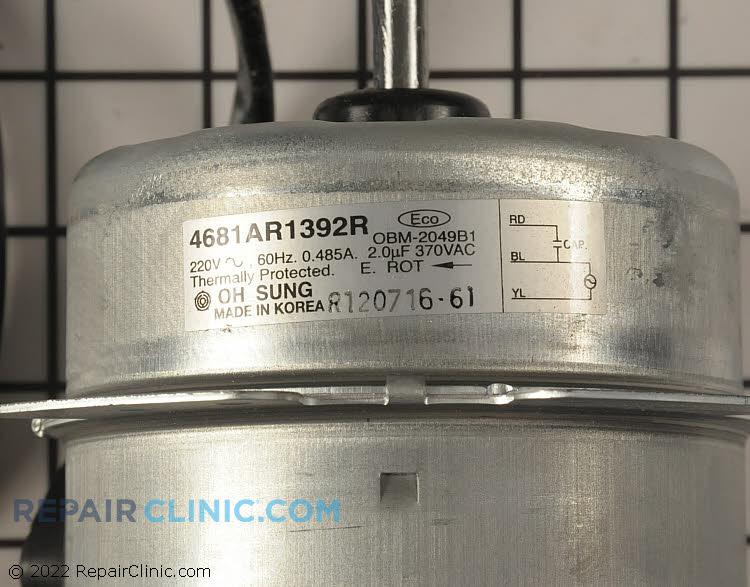 Fan Motor 4681AR1392R     Alternate Product View