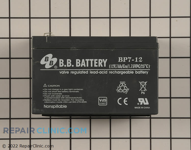 Battery 106-1905 Alternate Product View