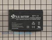 Battery - Part # 2142250 Mfg Part # 106-1905