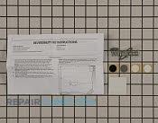 Door Reversal Kit - Part # 2118429 Mfg Part # W10395148