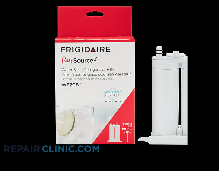 Water filter replacement reduces lead, chlorine, cycsts and particulates found in household water.  Replace filter every 6 months for best performance. This is manufacturer part WF2CB, and it replaces FC-100, FC100 and 46-9911.