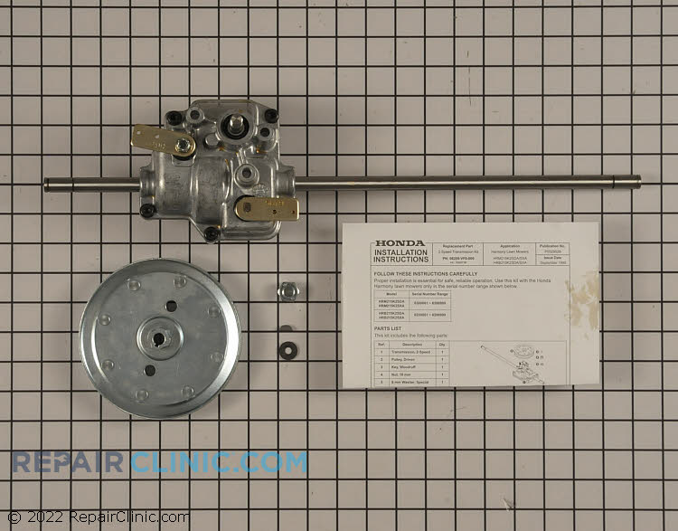 Transmission Assembly 06200-VF0-000   Alternate Product View