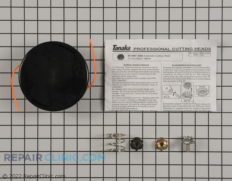 Trimmer Head 746751 Alternate Product View