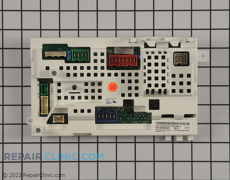 Control Board W10480598 Alternate Product View