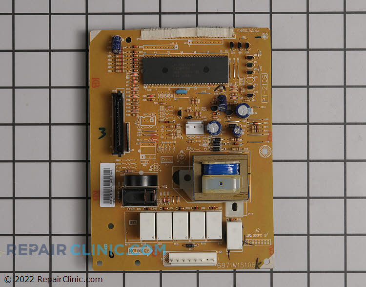 Main Control Board 6871W1S106K     Alternate Product View