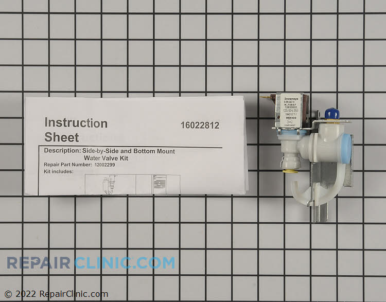 Water Inlet Valve WP67003753 Alternate Product View