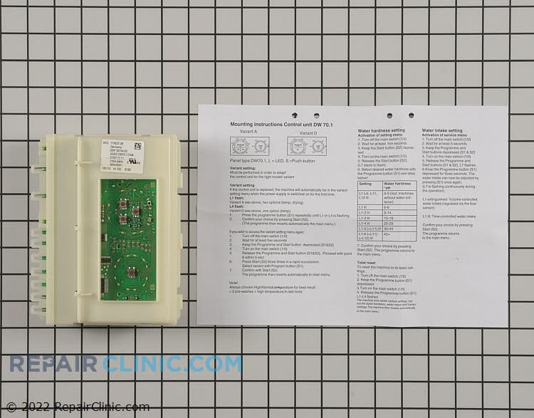 Control Board 8801362         Alternate Product View