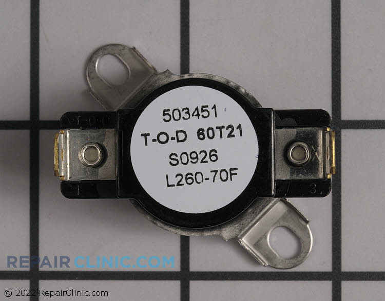 Thermostat, overheat control