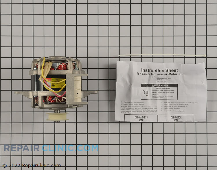 Drive Motor WPW10006415 Alternate Product View