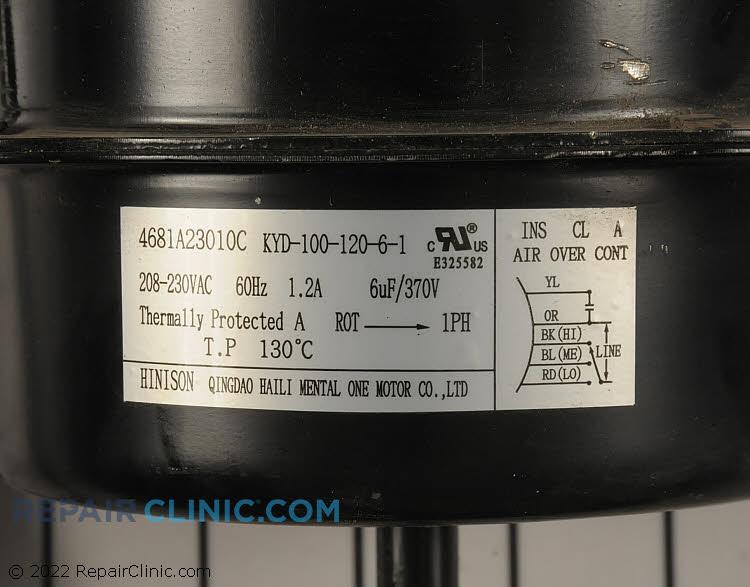 Fan Motor 4681A23010C     Alternate Product View