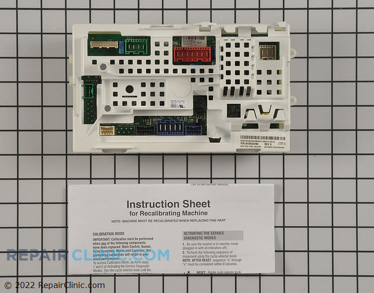 Control Board W10480180 Alternate Product View