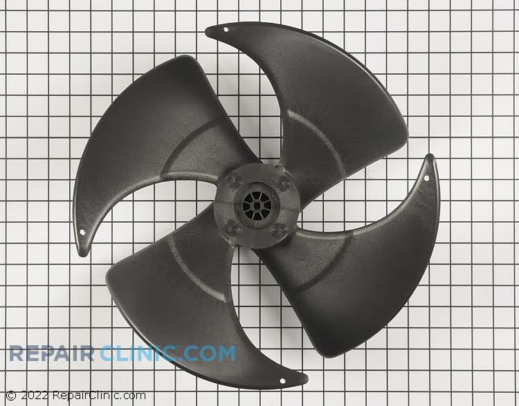 "Fan blade 15.5"" dia 40 deg 1/4"" shaft cw 4 blade"
