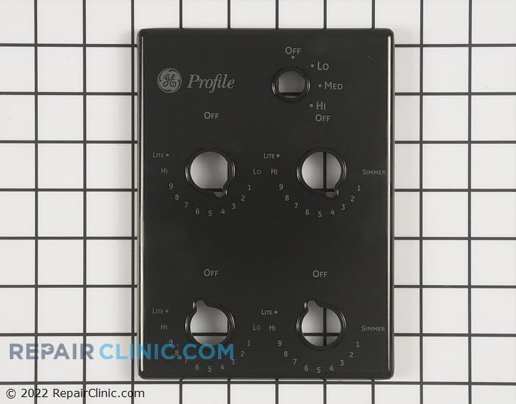 Control panel, glossy black