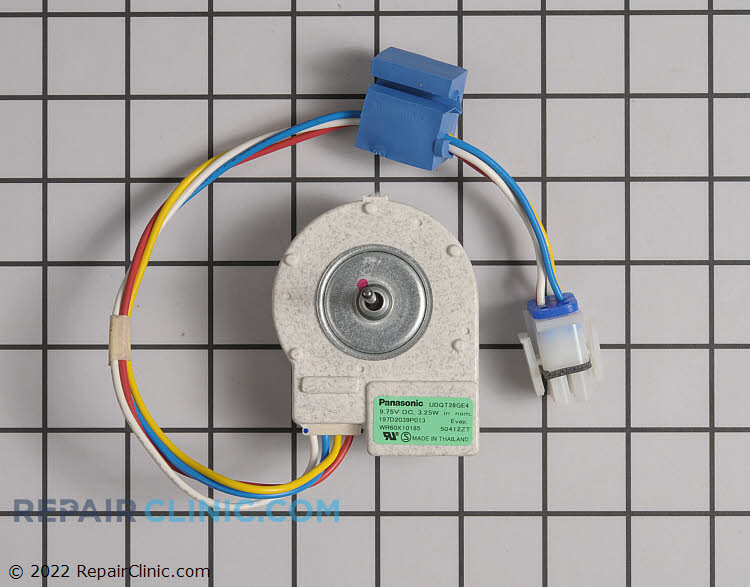 Evaporator Fan Motor WR60X10228      Alternate Product View