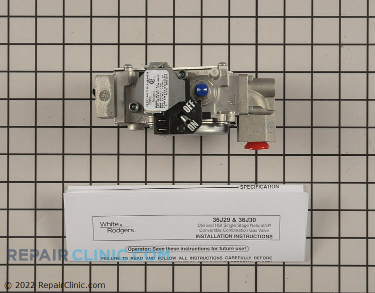 Gas Valve Assembly S1-02543267000 Alternate Product View