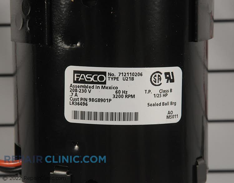 Fan Motor 98G89 Alternate Product View
