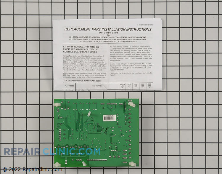 Control Board S1-33109150002 Alternate Product View
