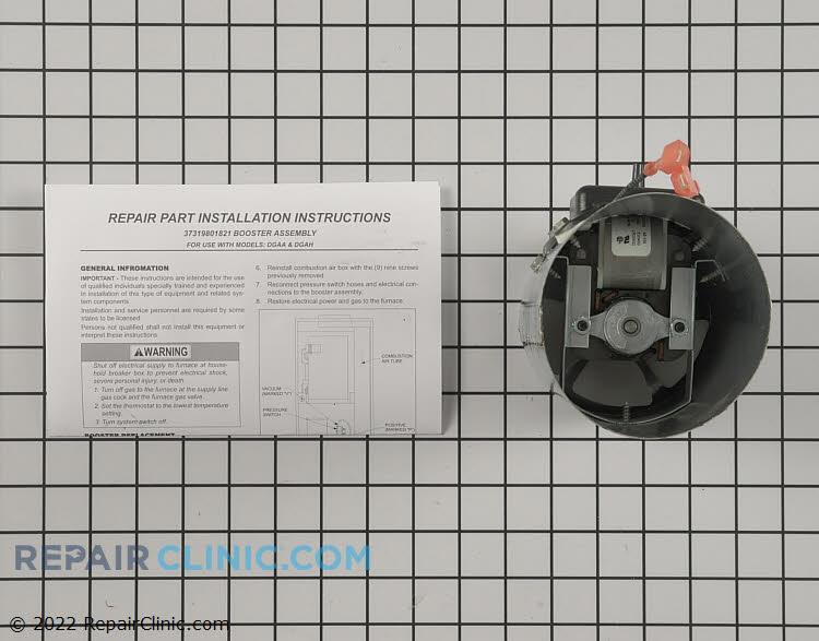 Draft Inducer Motor S1-37319801821 Alternate Product View