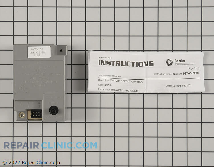 Control Module LH33WZ512 Alternate Product View