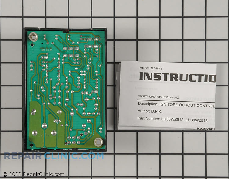 Control Module LH33WZ513 Alternate Product View