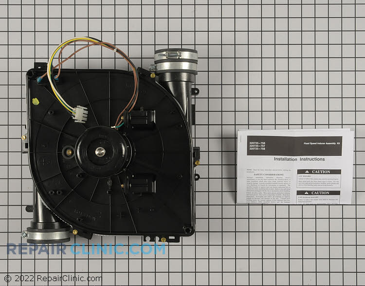 Draft Inducer Motor 320725-756 Alternate Product View