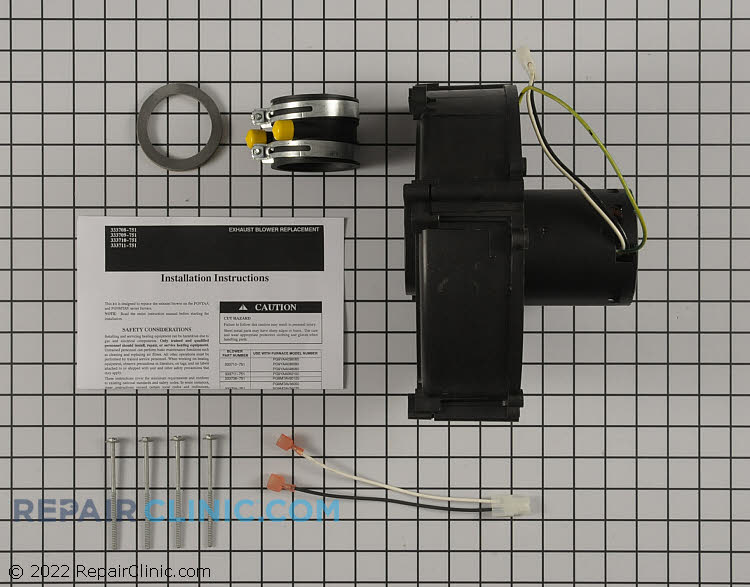Draft Inducer Motor 333711-751 Alternate Product View