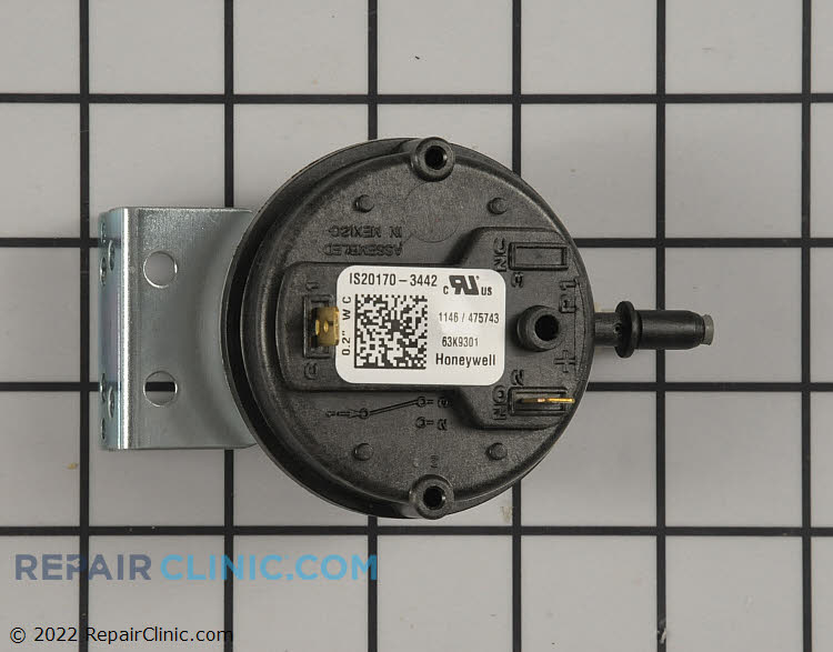 Pressure Switch 63K93 Alternate Product View
