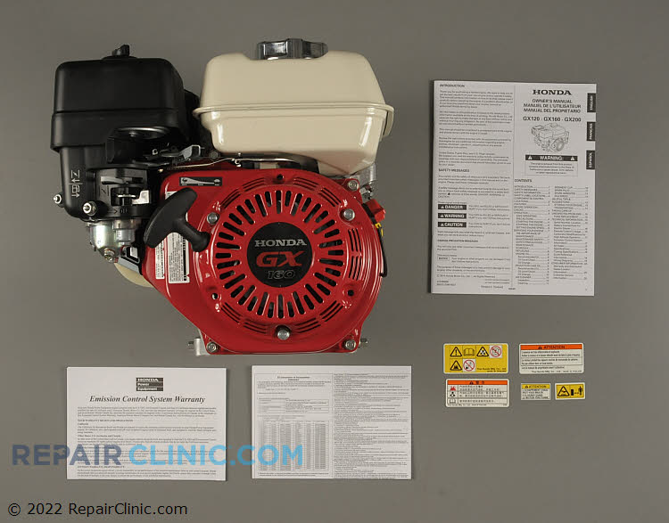 Engine Assembly GX160UT2-QX2    Alternate Product View