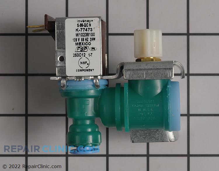 Single primary water inlet valve