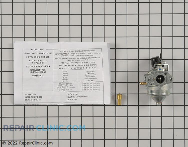 Carburetor 06161-Z0L-315   Alternate Product View