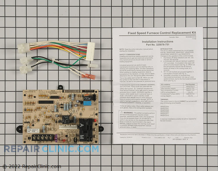 Control Board 325878-751 Alternate Product View