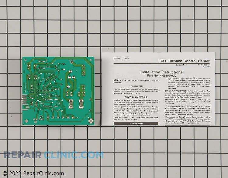 Control Board HH84AA020 Alternate Product View