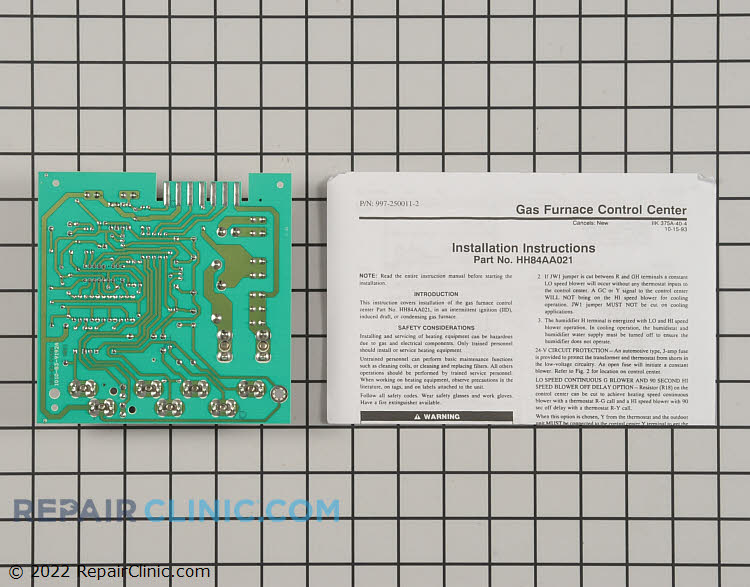 Control Board HH84AA021 Alternate Product View