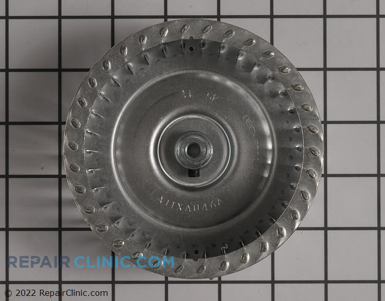 Draft Inducer Blower Wheel LA11XA046 Alternate Product View