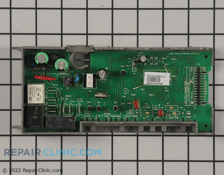 Main Control Board WPW10208672 Alternate Product View