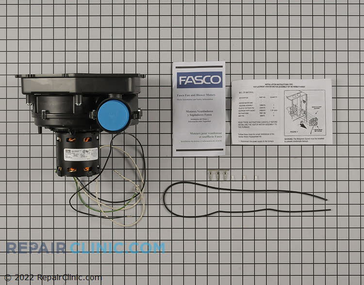 Draft Inducer Motor A307 Alternate Product View