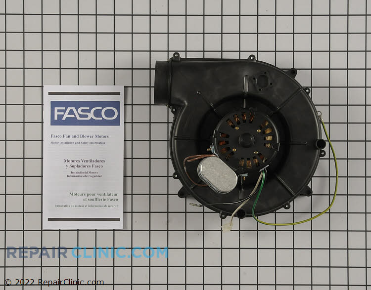 Draft Inducer Motor A130 Alternate Product View