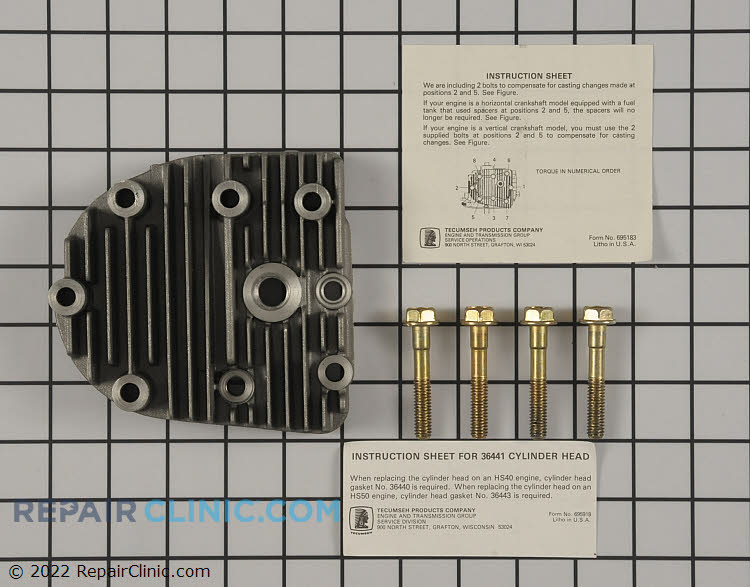 Cylinder Head 37675 Alternate Product View